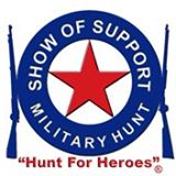 Show-of-Support Military Hunt